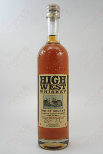 High West Son of Bourye Whiskey 750ml