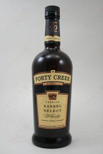 Forty Creek Barrel Select Whiskey 750ml