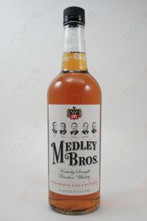 Medley Bros. 102 Proof WHiskey 750ml