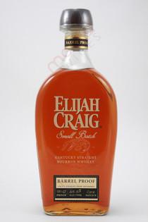 Elijah Craig Barrel Proof Kentucky Straight Bourbon Whiskey 750ml