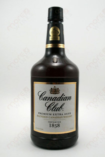 Canadian Club Blended Whisky 1.75L