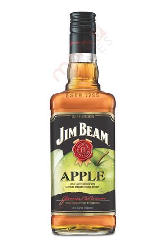 Jim Beam Apple Bourbon Whiskey 750ml Morewines