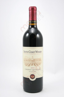 South Coast Winery Cabernet Sauvignon 2012 750ml