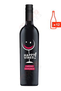 Happy Vines Cabernet Sauvignon Case FREE SHIP