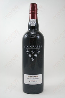 W & J Graham's Six Grapes Reserve Porto 750ml
