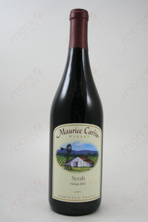 Maurice Carrie Syrah 2012 750ml
