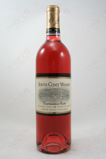 South Coast Winery Tempranillo Rose 2012 750ml