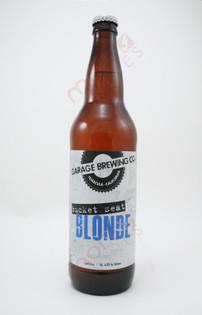Garage Brewing Co 'Bucket Seat' Blonde 22fl oz
