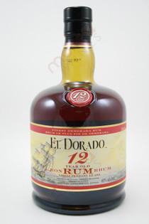 El Dorado 12 Year Special Reserve Rum 750ml