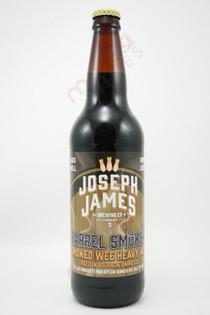 Joseph James Brewing Barrel Smoker Smoked Wee Heavy Ale 22fl oz