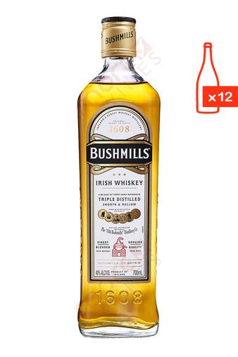 bushmills original irish whiskey 750ml case of 12 free ship 17 99