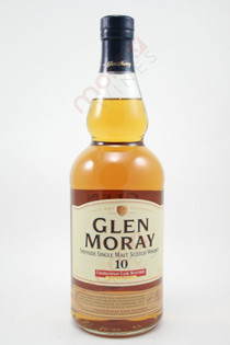 Glen Moray Chardonnay Cask Matured 10 Year Old Single Malt Scotch Whisky 750ml