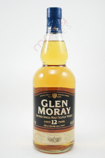 Glen Moray 12 Year Old Single Malt Scotch Whisky 750ml