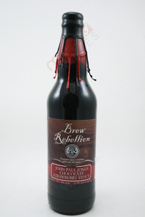 Brew Rebellion John Paul Jones Chocolate Strawberry Stout 22fl oz