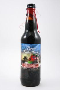 Brew Rebellion John Paul Jones Chocolate Strawberry Stout 22fl oz