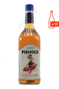 Piehole Cherry Pie Flavored Whiskey 1L (Case of 12) FREE SHIP $13.99/Bottle