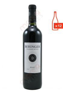Beringer Founders' Estate Malbec 2012 750ml (Case of 12) FREE SHIP 8.99/Bottle *Closeout*