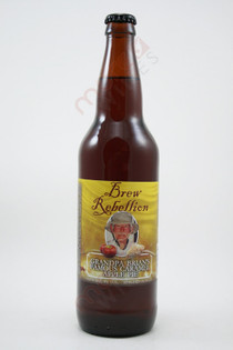 Brew Rebellion Grandpa Brian's Famous Caramel Apple Pie 22fl oz