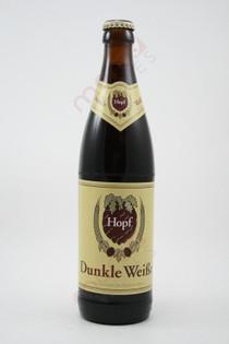 Hopf Dunkle Weisse Bier 500ml