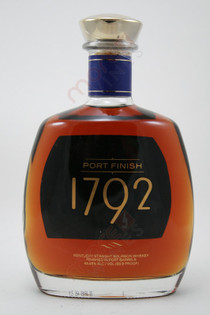 1792 Port Finish Kentucky Straight Bourbon Whiskey 750ml