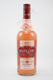 Deep Eddy Ruby Red Real Grapefruit Vodka 750ml