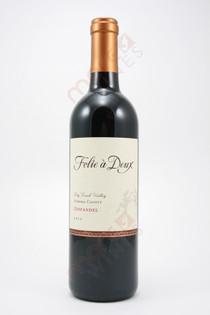 Folie a Deux Dry Creek Zinfandel 2012 750ml