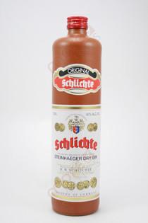 Schlichte Steinhaeger Dry Gin 750ml