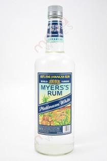 Myers's Platinum White Rum 1L