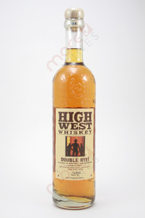 High West Distillery Double Rye Straight Rye Whiskey 750ml