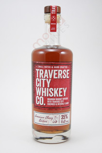 Traverse City Whiskey Co. American Cherry Edition Bourbon Whiskey 750ml