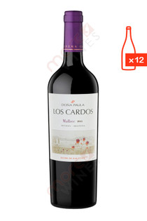 Dona Paula Los Cardos Malbec 2015 750ml (Case of 12) FREE SHIP $9.99/Bottle
