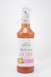 Koloa Hawaiian Rum Punch Cocktail 1L