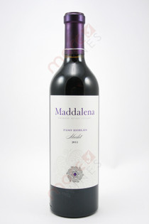 Maddalena Vineyard Paso Robles Merlot 2011 750ml