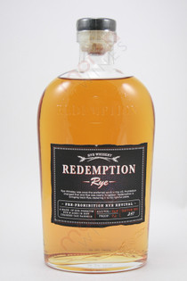 Redemption Pre-Prohibition Rye Revival Rye Whiskey 750ml