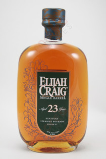 Elijah Craig 23 Year Old Single Barrel Straight Bourbon Whiskey 750ml