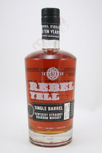 Rebel Yell Single Barrel 10 Year Old Kentucky Straight Bourbon Whiskey 750ml