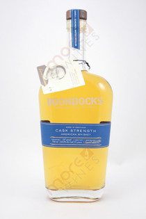 Boondocks Cask Strength American Whiskey 750ml