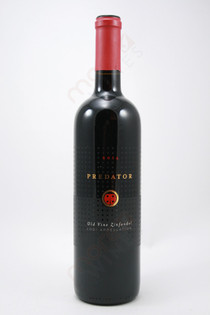 Predator Old Vine Zinfandel 2014 750ml