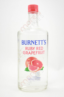 Burnett's Ruby Red Grapefruit Vodka 750ml