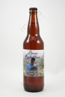 Brew Rebellion Emmons Brotherly Love Blackberry Pale Ale 22fl oz