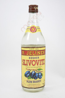 R. Jelinek Slivovitz Kosher Plum Brandy 750ml