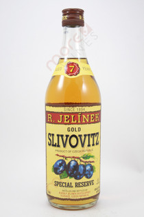 R. Jelinek Slivovitz Kosher Gold Plum Brandy 750ml