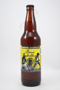 Brew Rebellion Shockolate Chocolate Strawberry Ale 22fl oz