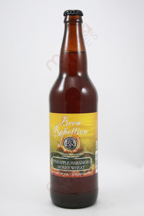 Brew Rebellion Pineapple Habanero Honey Wheat 22fl oz