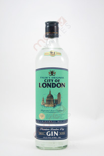 Tyler's Original City of London Premium London Dry Gin 750ml