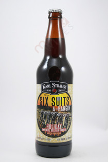 Karl Strauss Six Suits A-Hangin' Holiday Imperial Belgian Brown Ale 22fl oz