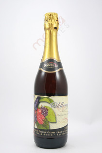 Donelli Wildberry & Sparkling Grape Juice Non-Alcoholic 750ml