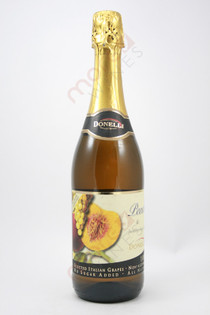 Donelli Peach & Sparkling Grape Juice Non-Alcoholic 750ml