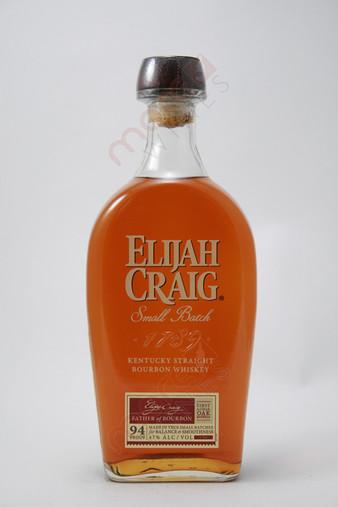 Elijah Craig 12 Year Old Small Batch Straight Bourbon Whisky 750ml