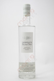 Leopold Bros Silver Tree American Small Batch Vodka 750ml
